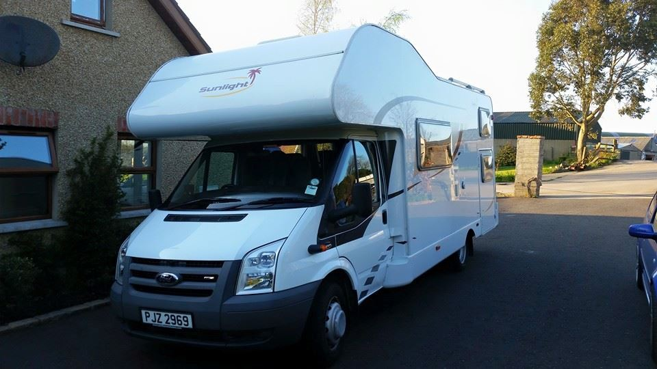 Hire Motorhome While Holidaying in Northern Ireland